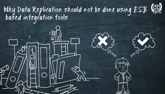 Why ESP-Based Integration Tools are not best suited for Data Replication