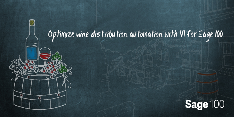 wine distribution automation
