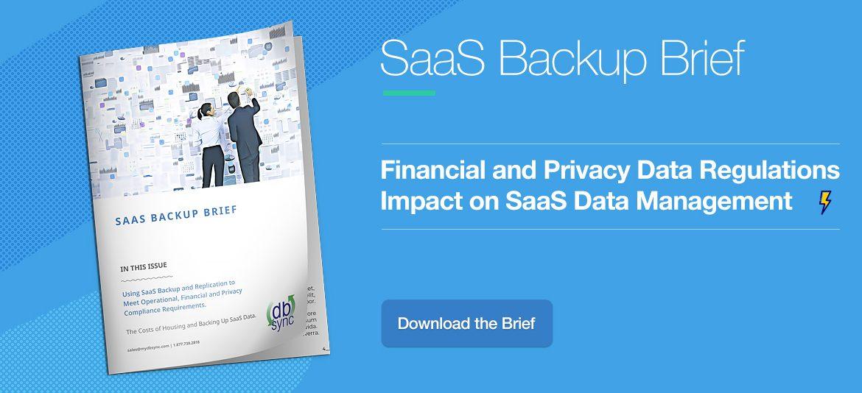 Saas Backup Brief