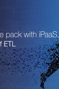 iPaaS integration, ETL