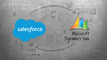 Microsoft NAV and Salesforce integration, accounting integration