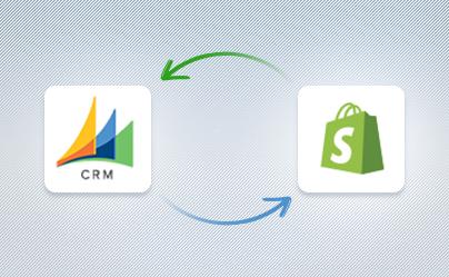 MSCRM & Shopify