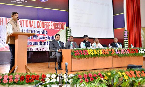 Muralidhar Koteshwar at Fifth International Conference on Social Entrepreneurship