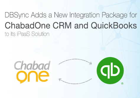 Integration for ChabadOne CRM and QuickBooks by DBSync
