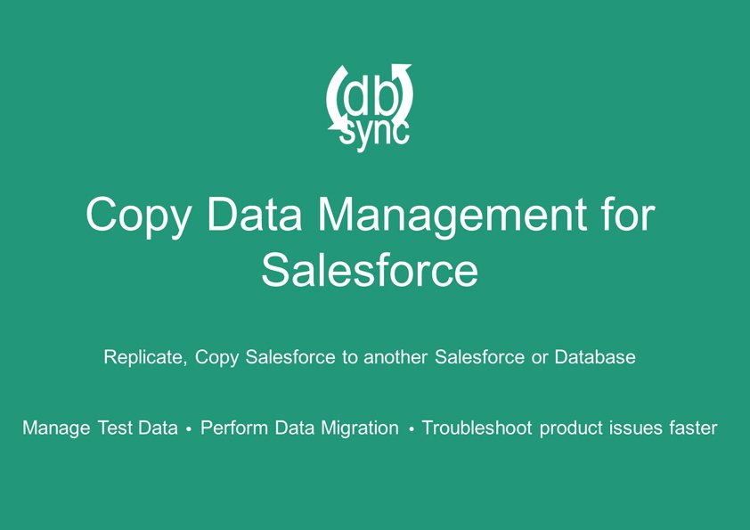New Copy Data Management (CDM) Released on the Salesforce