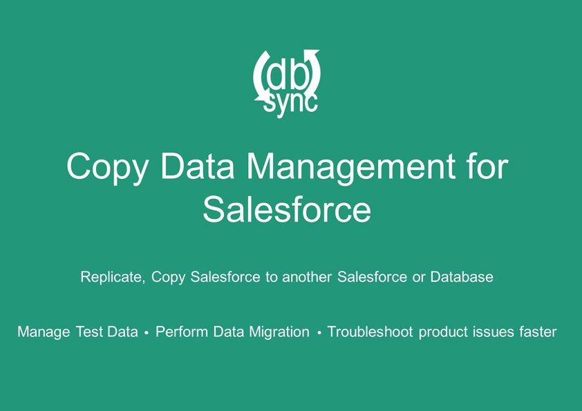 New CDM tool for Salesforce admins by DBSync