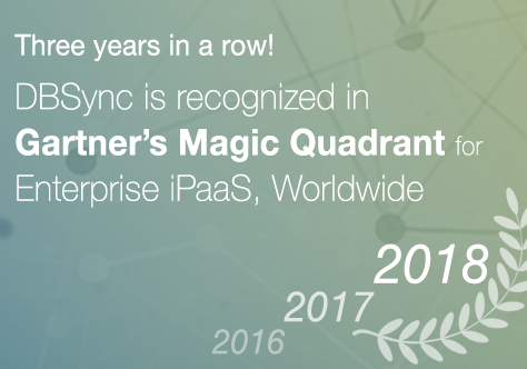 Gartner recognised DBSync 2018