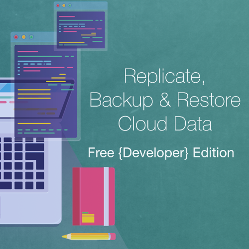 New Developer Edition for Cloud Replication and CDM