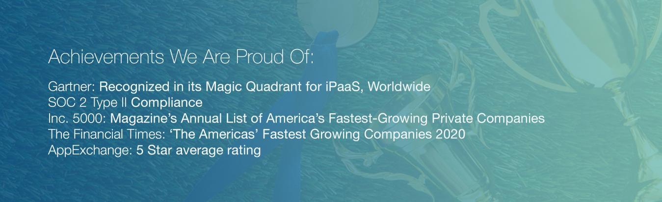 Achievements we're proud of
