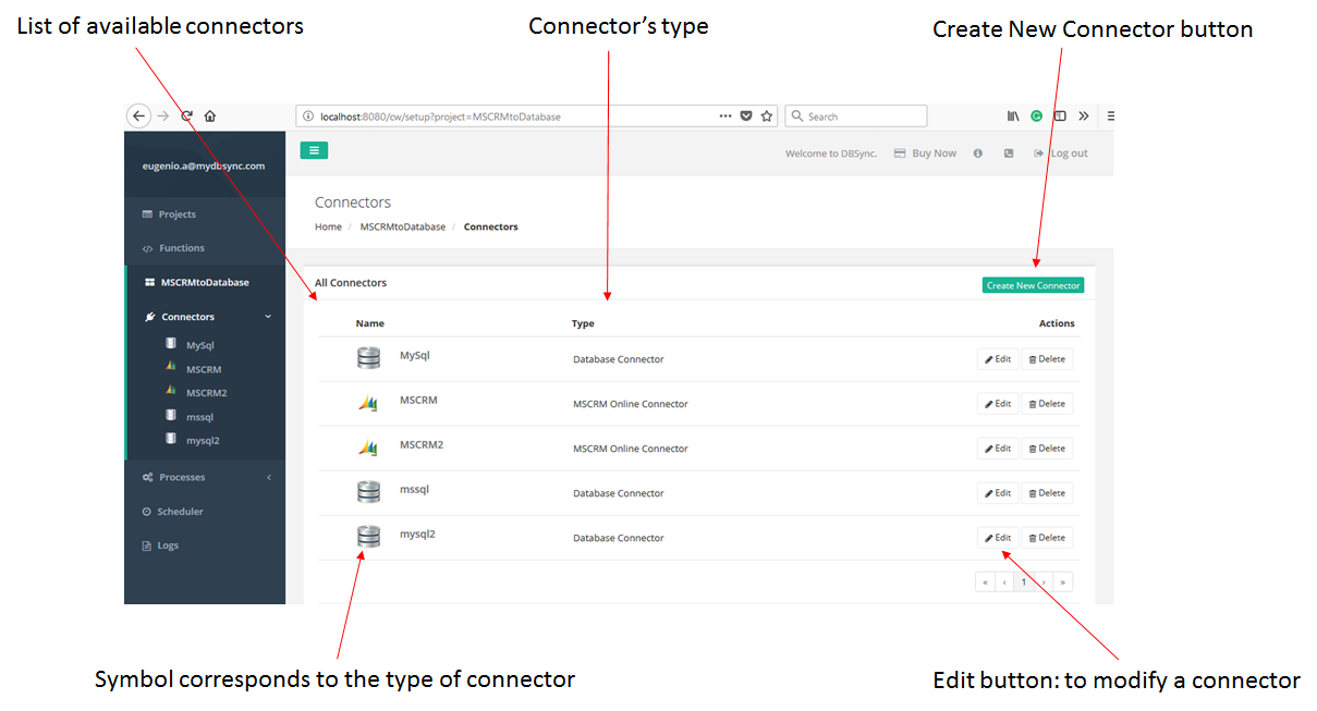 Create a connector